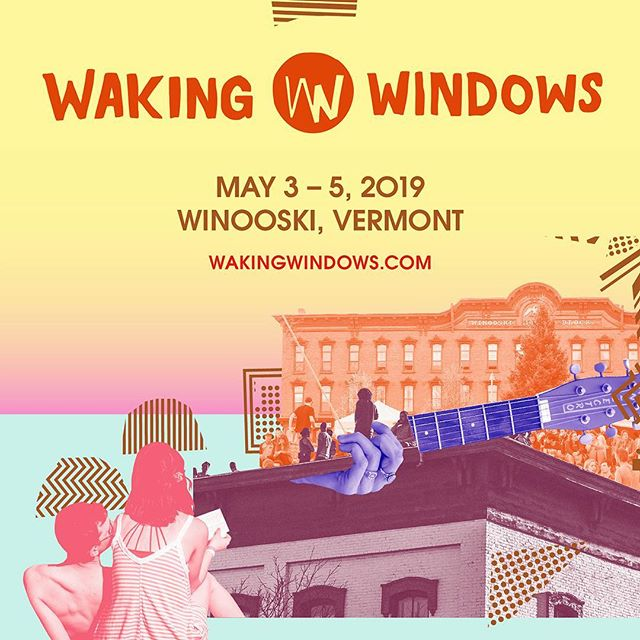 T-minus 3 days till we hit @wakingwindows! We'll be getting down at @laststopwinooskivt at 9pm on Saturday. So many talented local artists are taking the weekend by storm and we can't wait to throw down in the onion city with them #getwiththecrew #wakingwindows #wakingwindowswinooski #winooski #listenlocal #supportlocal