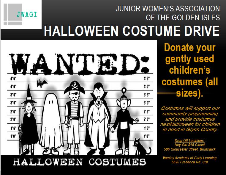 Costume Drive Flier