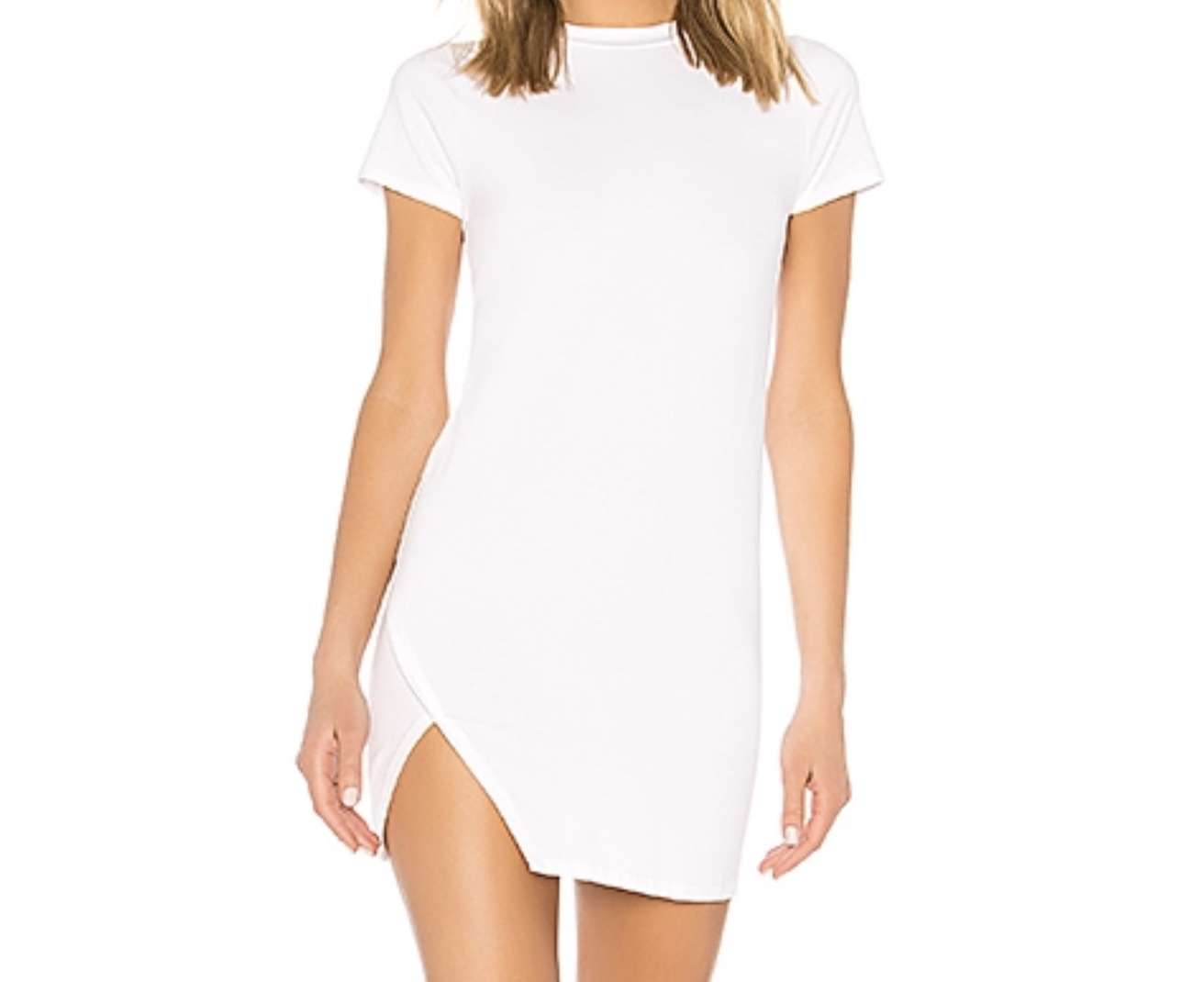 Destiny Slit Dress from Revolve