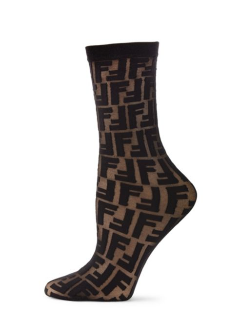 Fendi - Logo Crew Socks