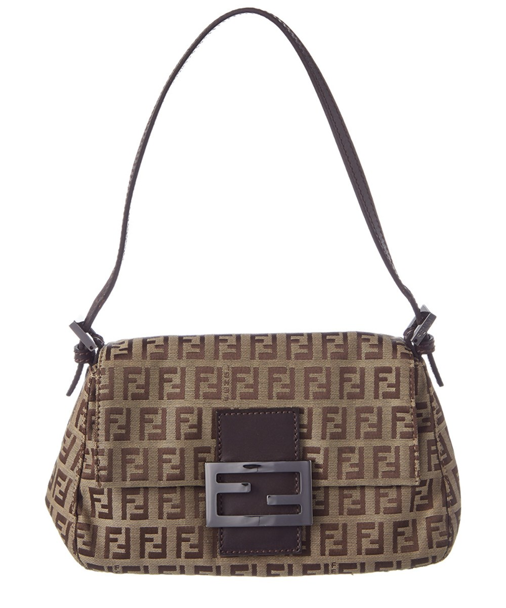 Fendi - Brown Zucca Canvas Mini Mama