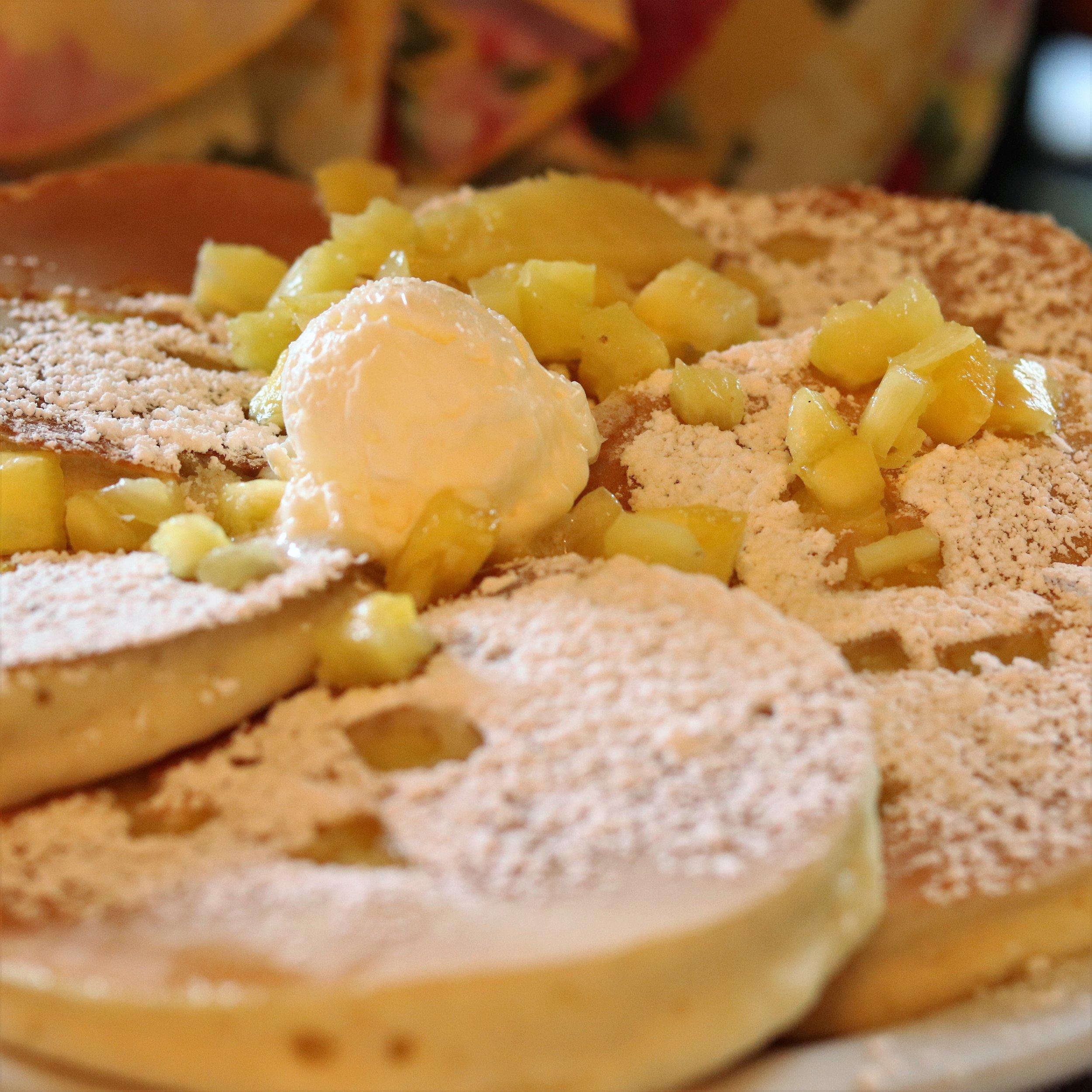 Pineapple Pancakes