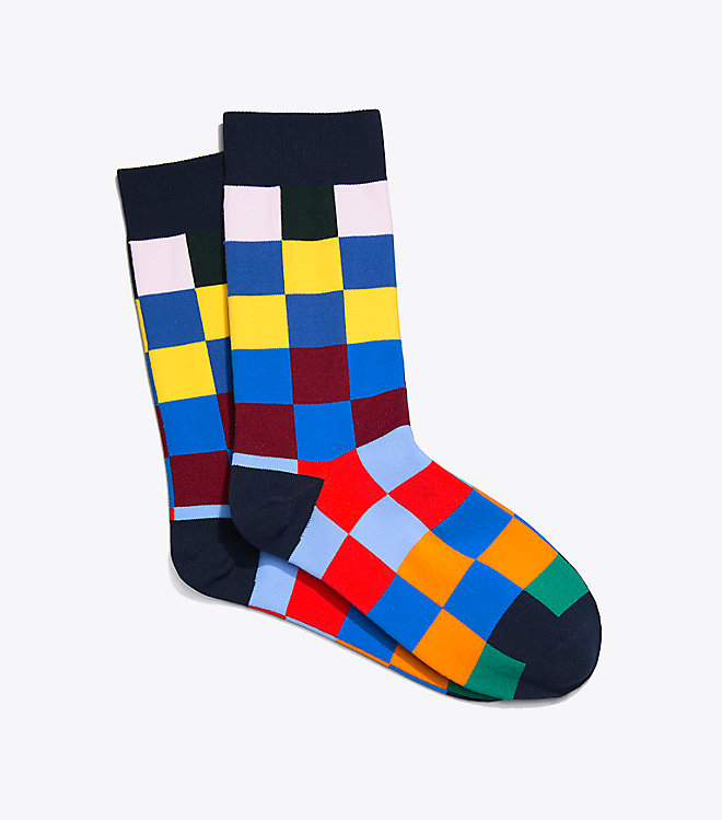 Checked Trouser Sock -