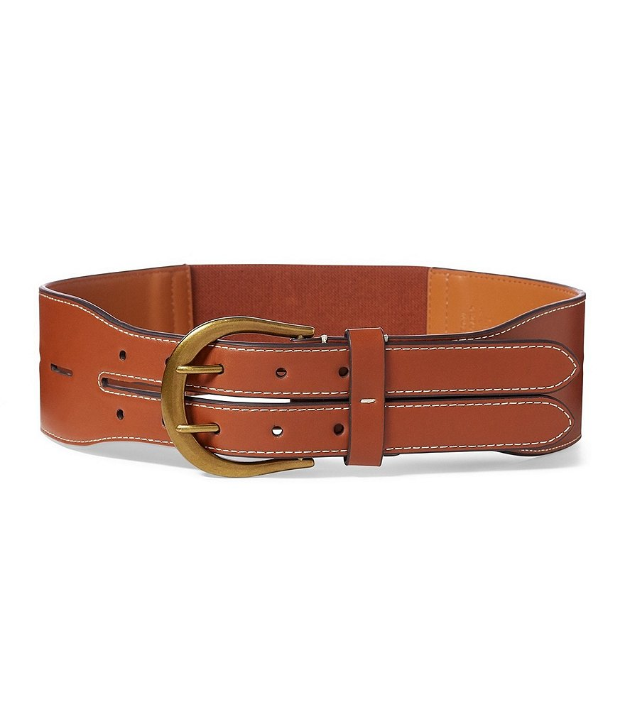 Double Equestrian Belt - Ralph Lauren
