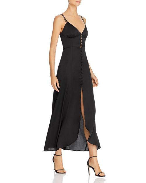 Isabella Satin Maxi Dress - For Love & Lemons