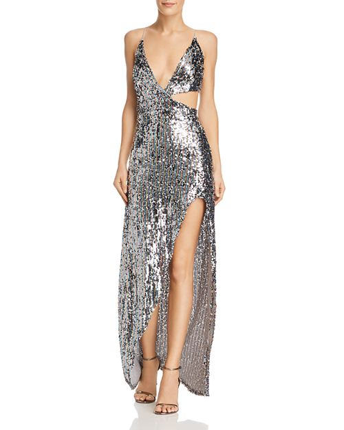 Showtime Sequined Maxi Dress - For Love & Lemons