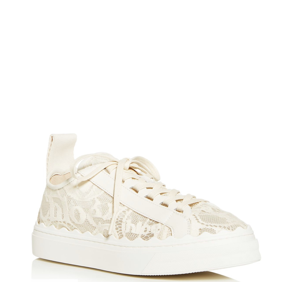Chloe  Lauren low top lace sneaker