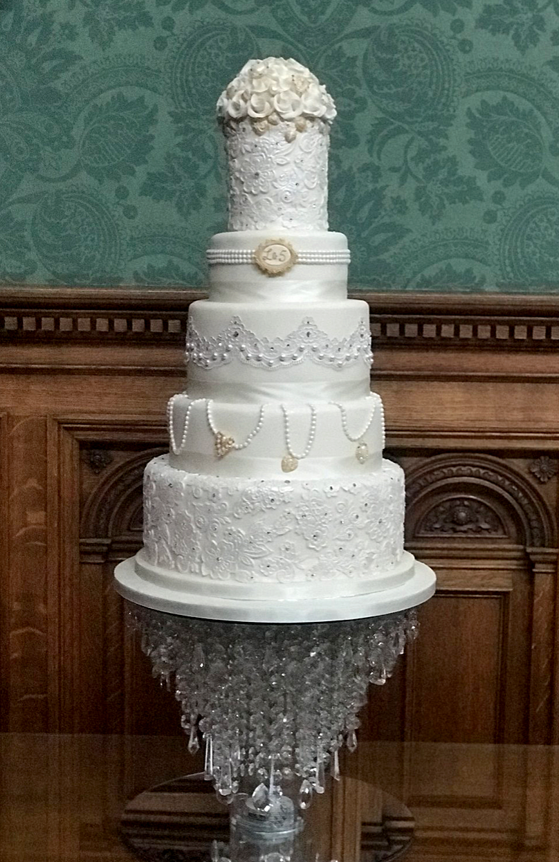 The Cake Shop Liverpool Chandelier Cake