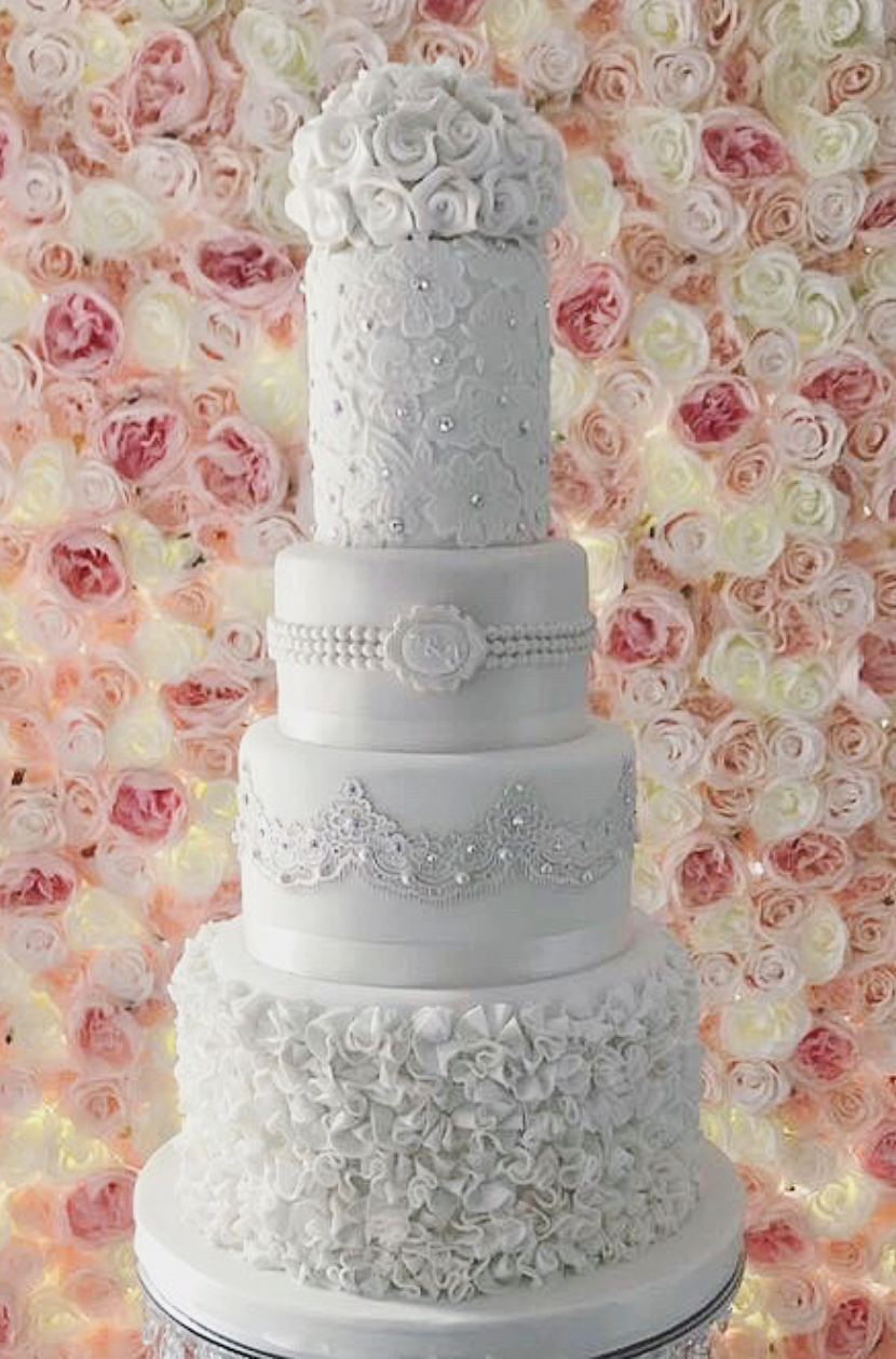 The Cake Shop Liverpool Wedding Cake