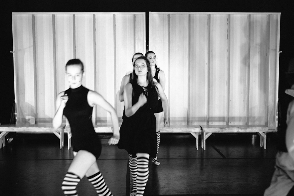 Our dance theater productions are mix of