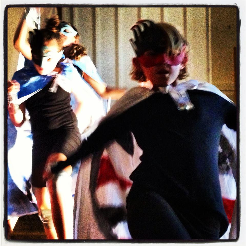 We become superheroes