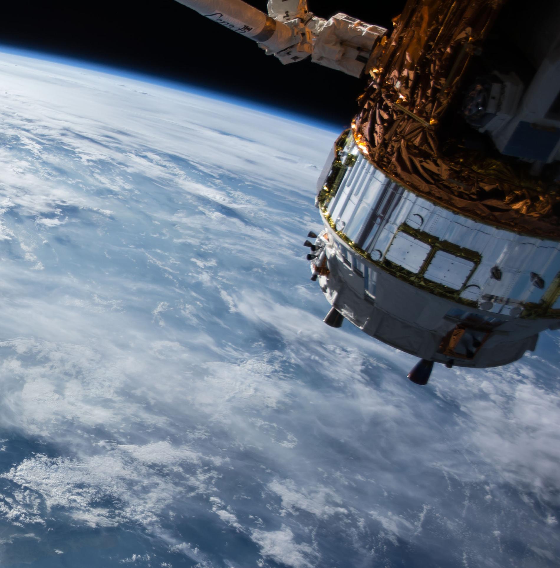 Image: Satellite orbiting Earth. Source: Unsplash