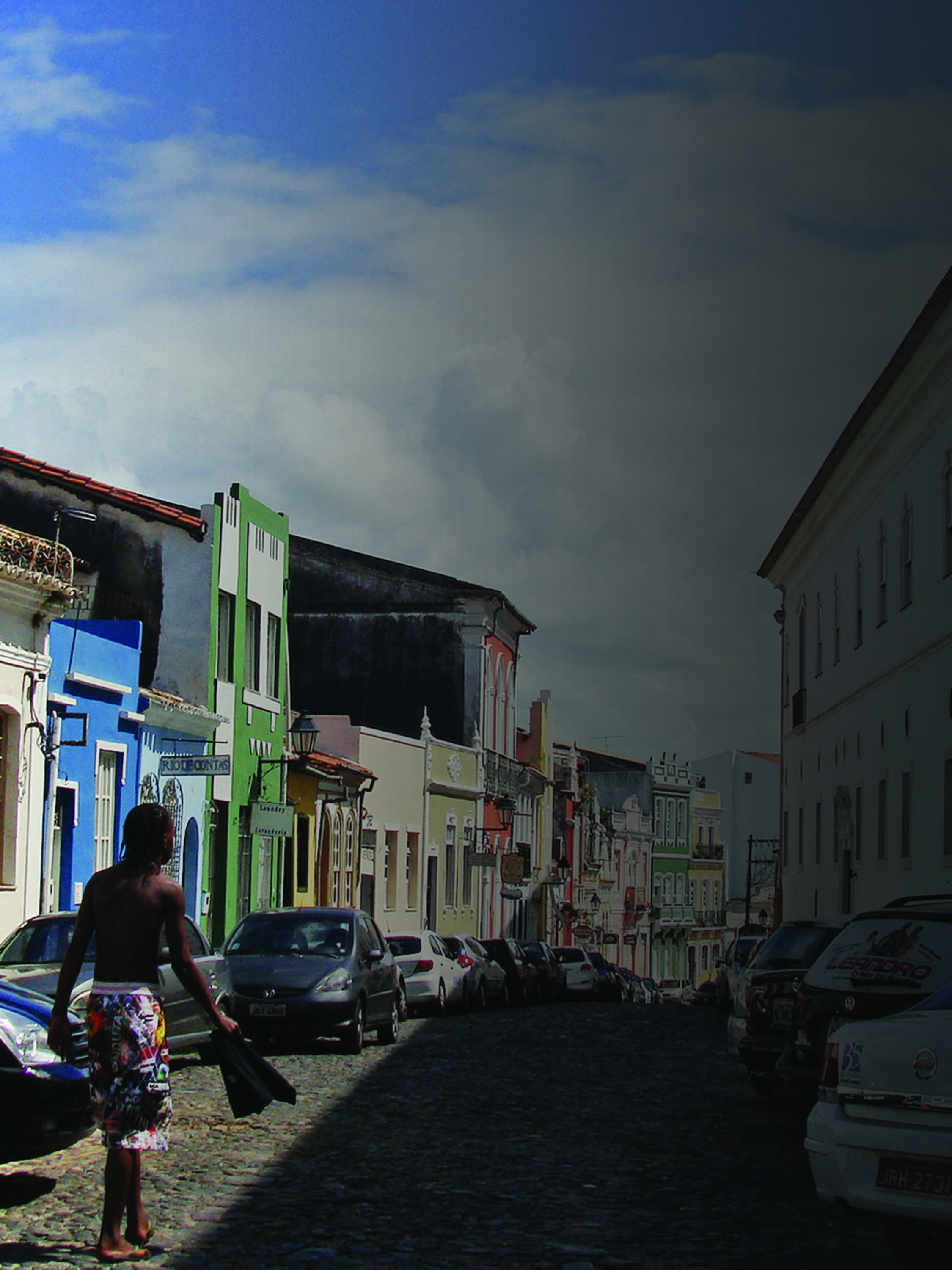 A view of Old Town Salvador, Bahia.    Source   : Mariana Ceratti / World Bank via Flickr