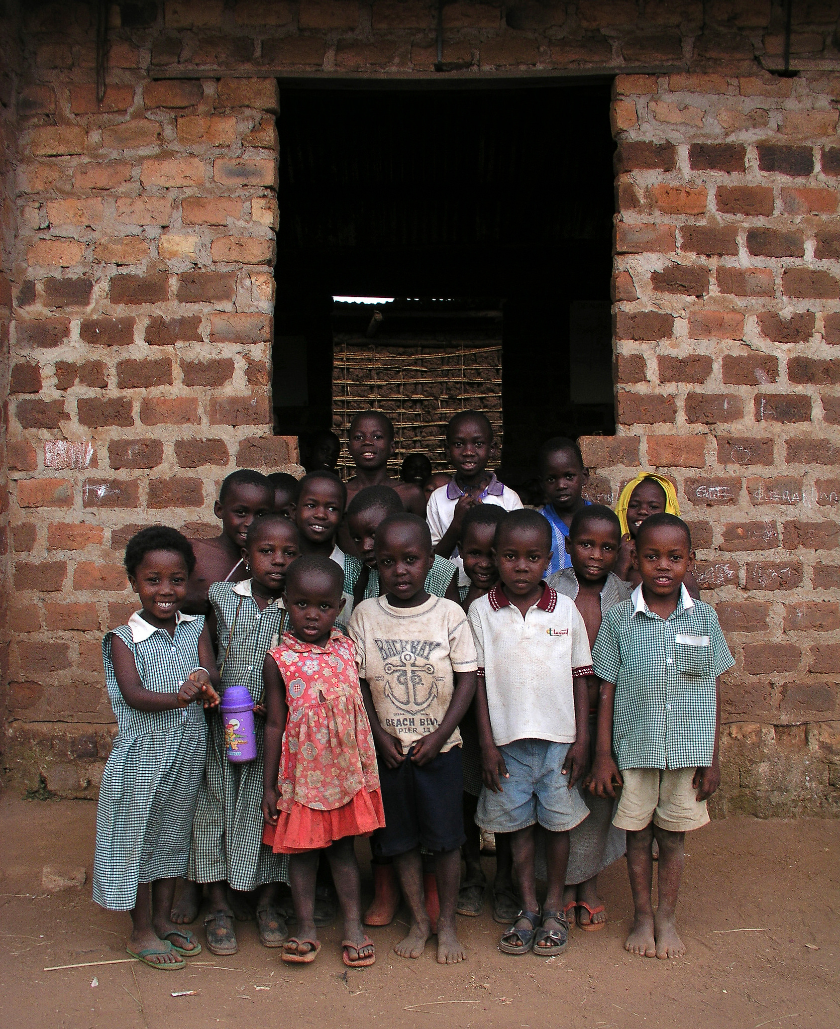 Children in at a school in Kampala, Uganda.    Source   : Arne Hoel / World Bank via Flickr