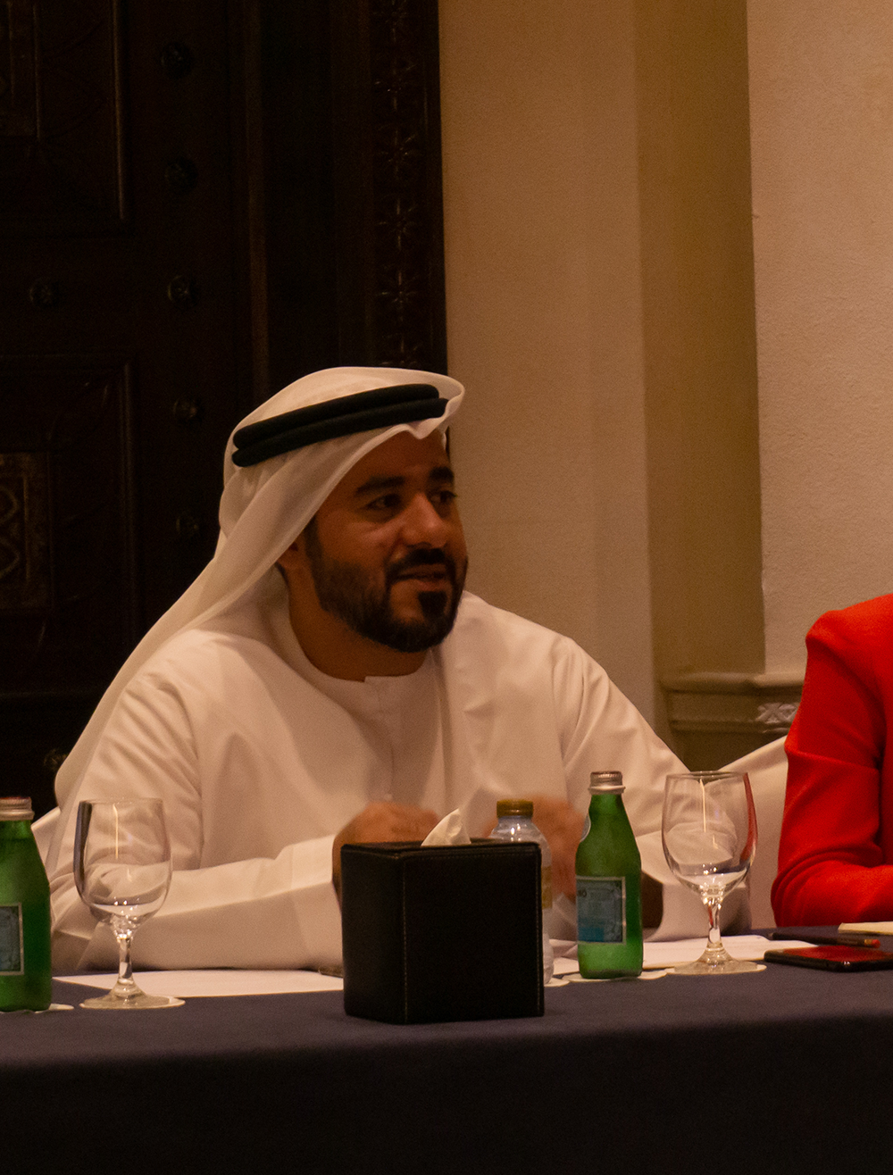 FCSA's Malik Al Madani, pictured at TReNDS' biannual meeting on the sidelines of the UN World Data Forum in October 2018. Source: Jay Neuner for TReNDS