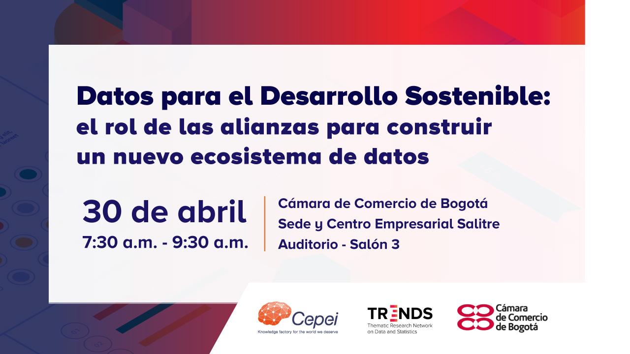 Bogotá Event Flyer April 30 2019