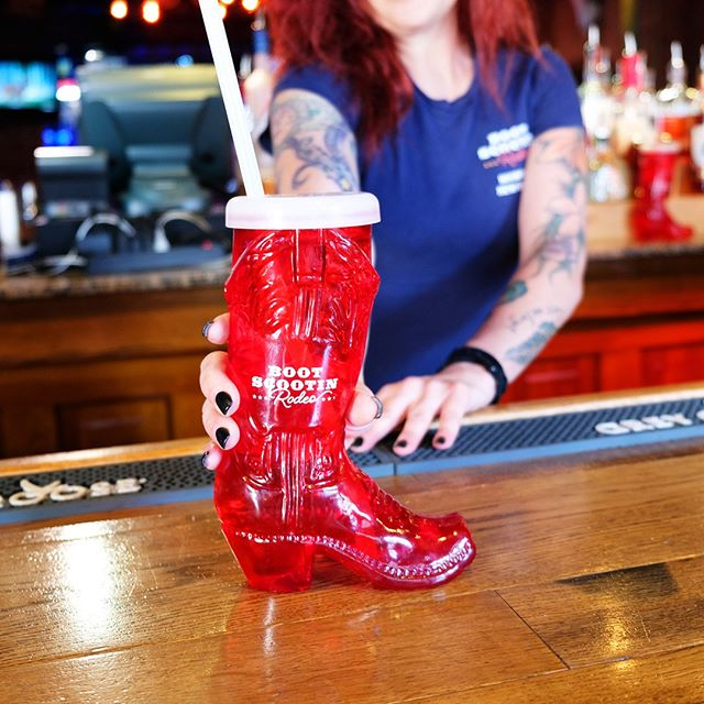🎵 This boot is made for drinkin', and that's just what you'll do 🎶