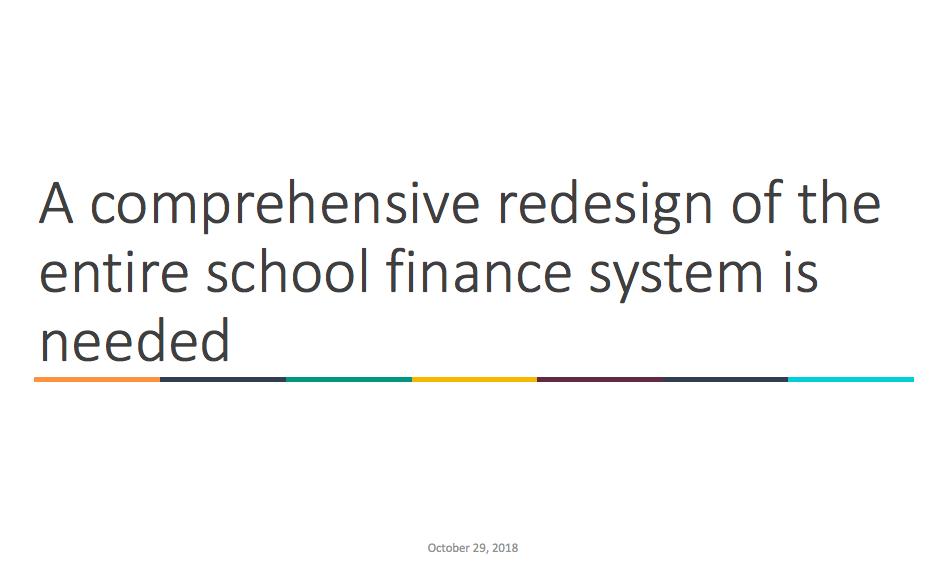Abbott School Finance Presentation