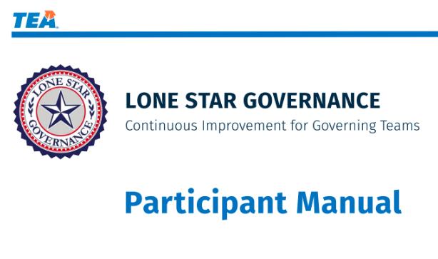 TEA Lone Star Governance Manual