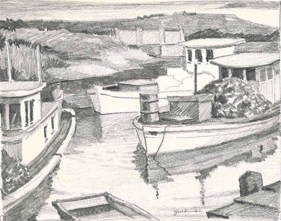 Untitled - Working Boats (1962)
