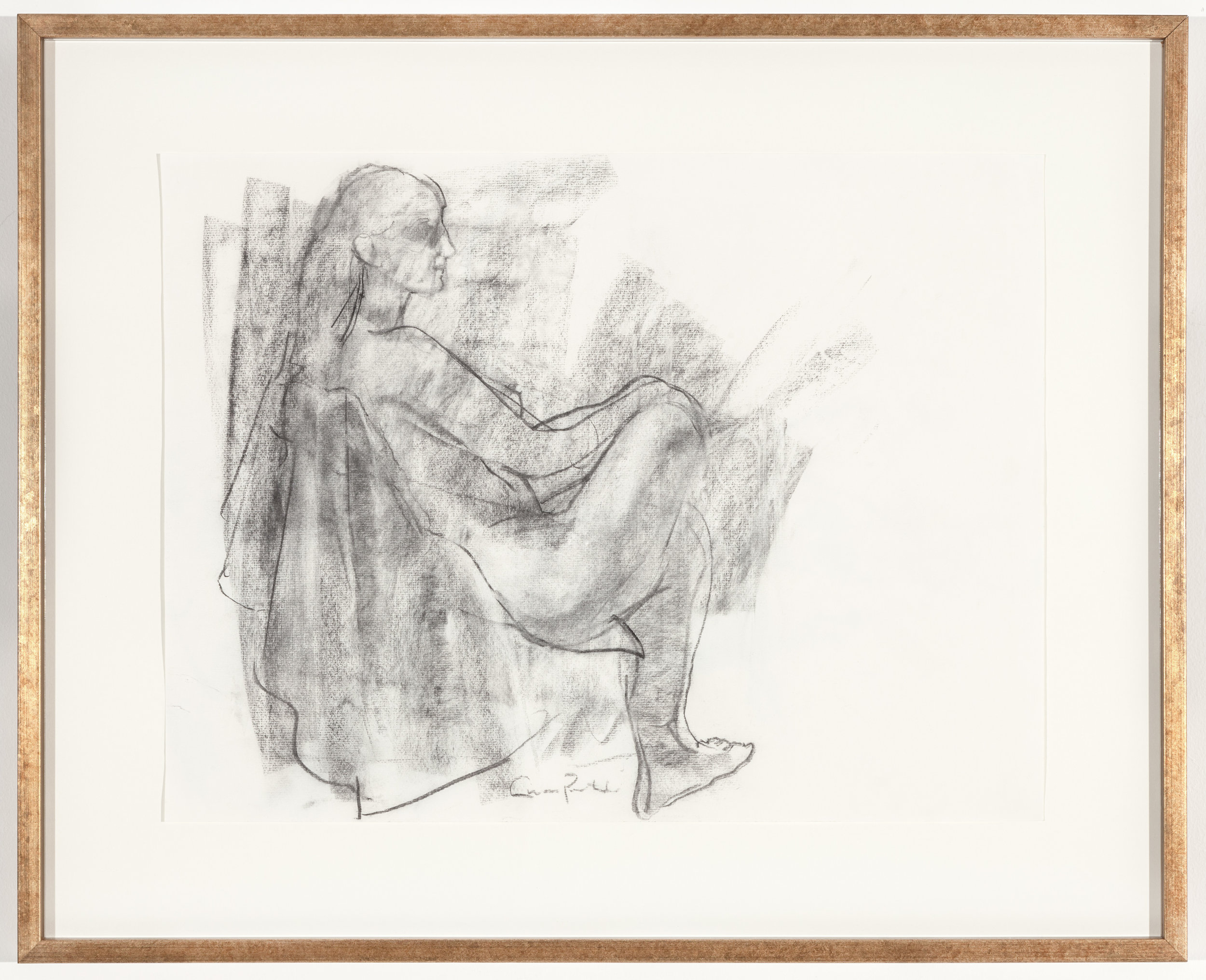 Sitting Female Figure Portrait (2012)