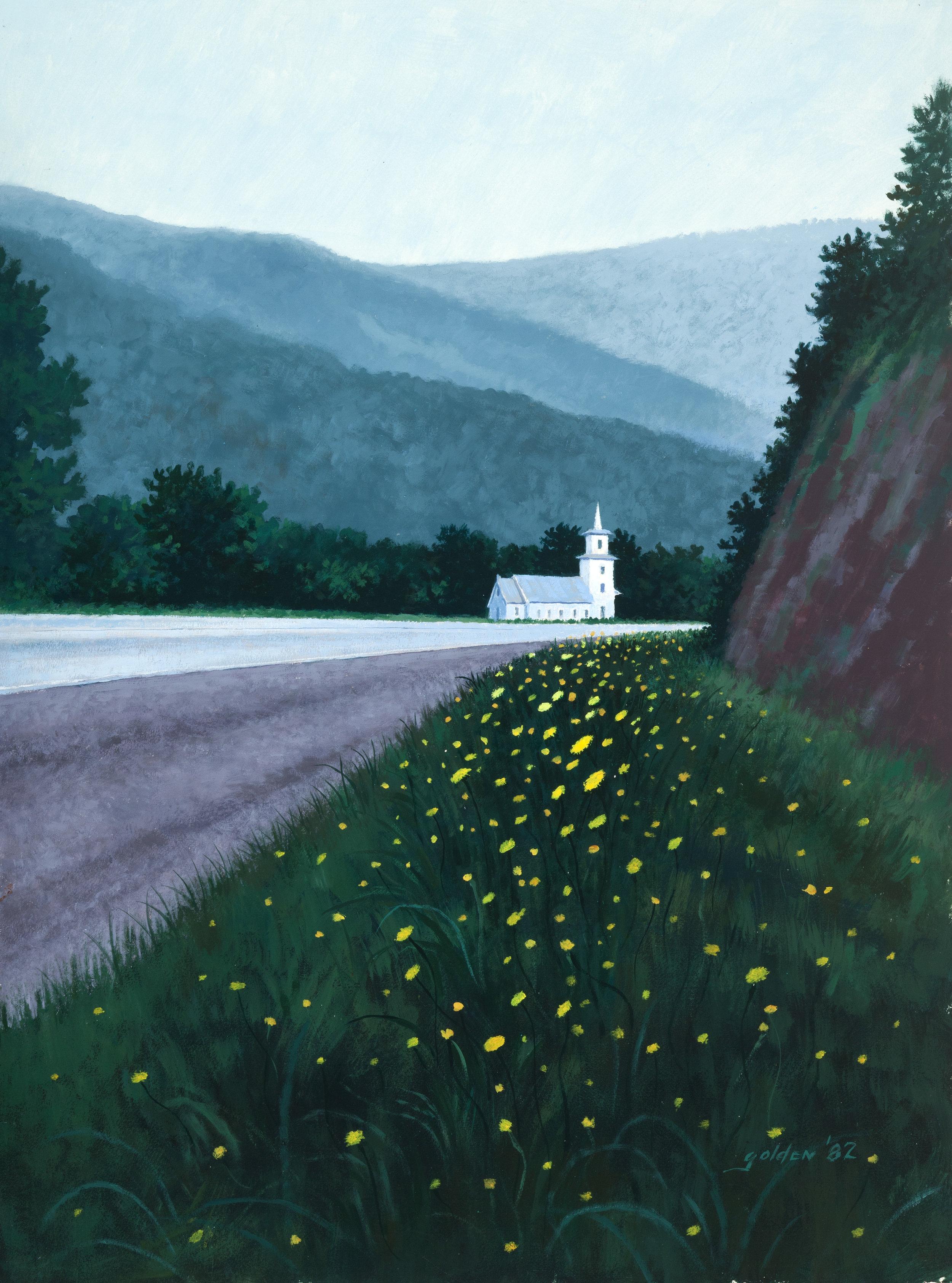 Vermont Church (1982)