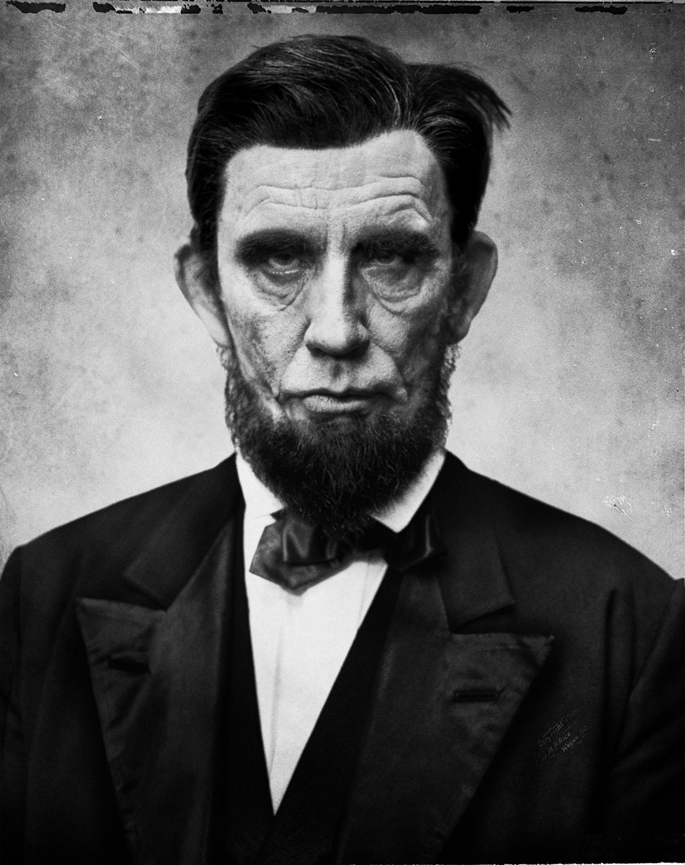 Alexander Gardner / Abraham Lincoln (1863), (2017)