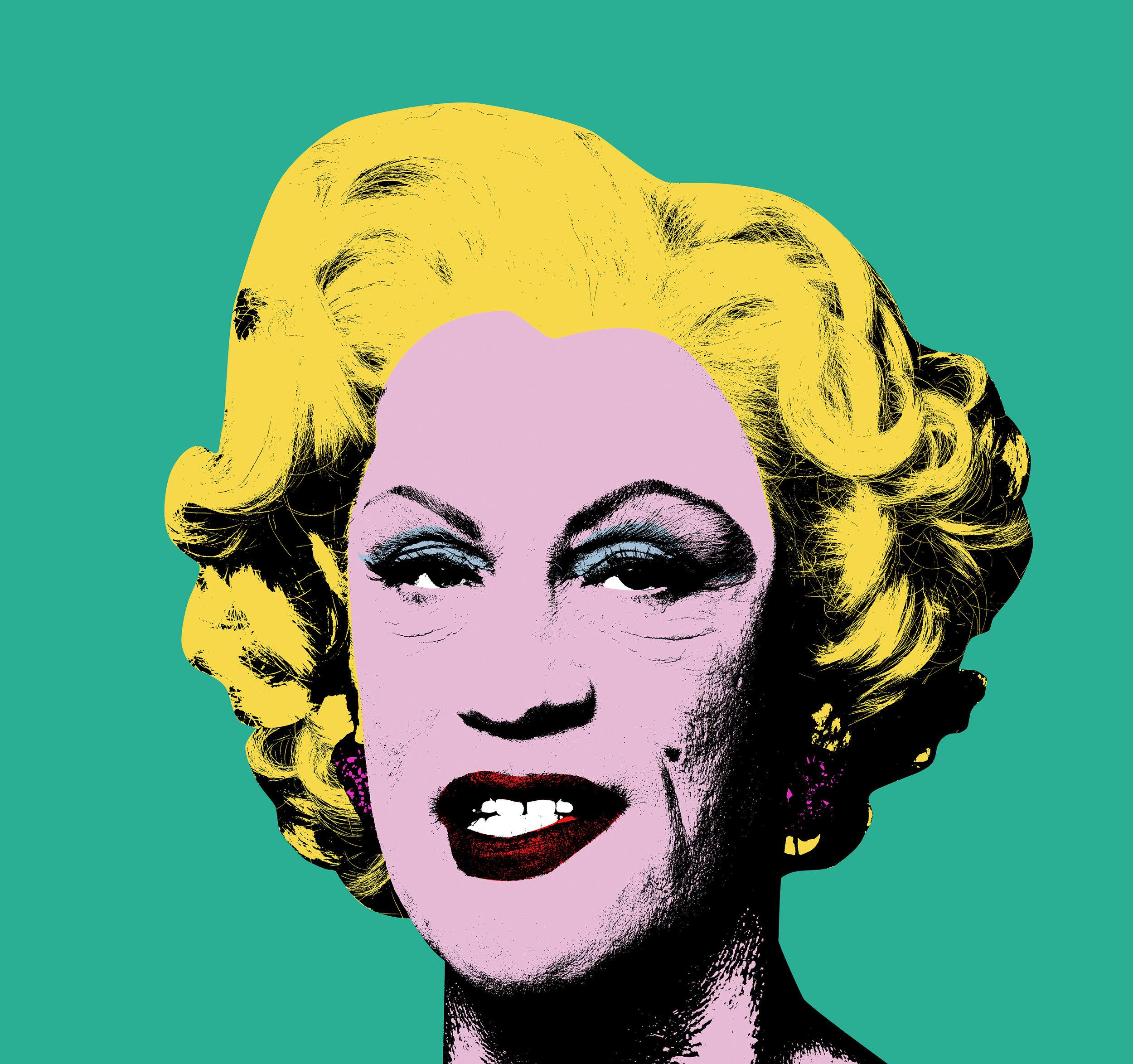 Andy Warhol / Green Marilyn (1962), (2014)