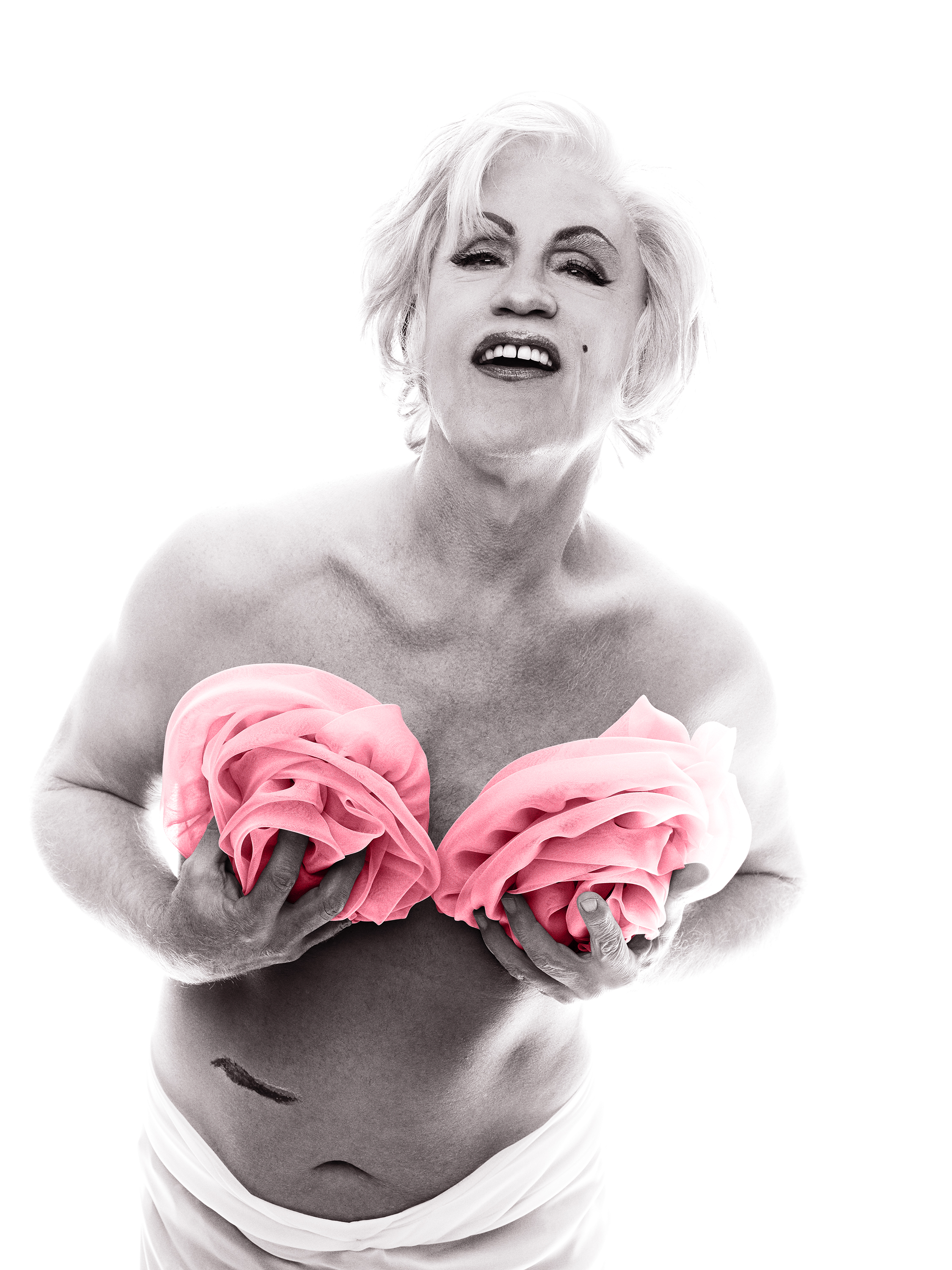 Bert Stern / Marilyn in Pink Roses (from The Last Session) (1962), 2014