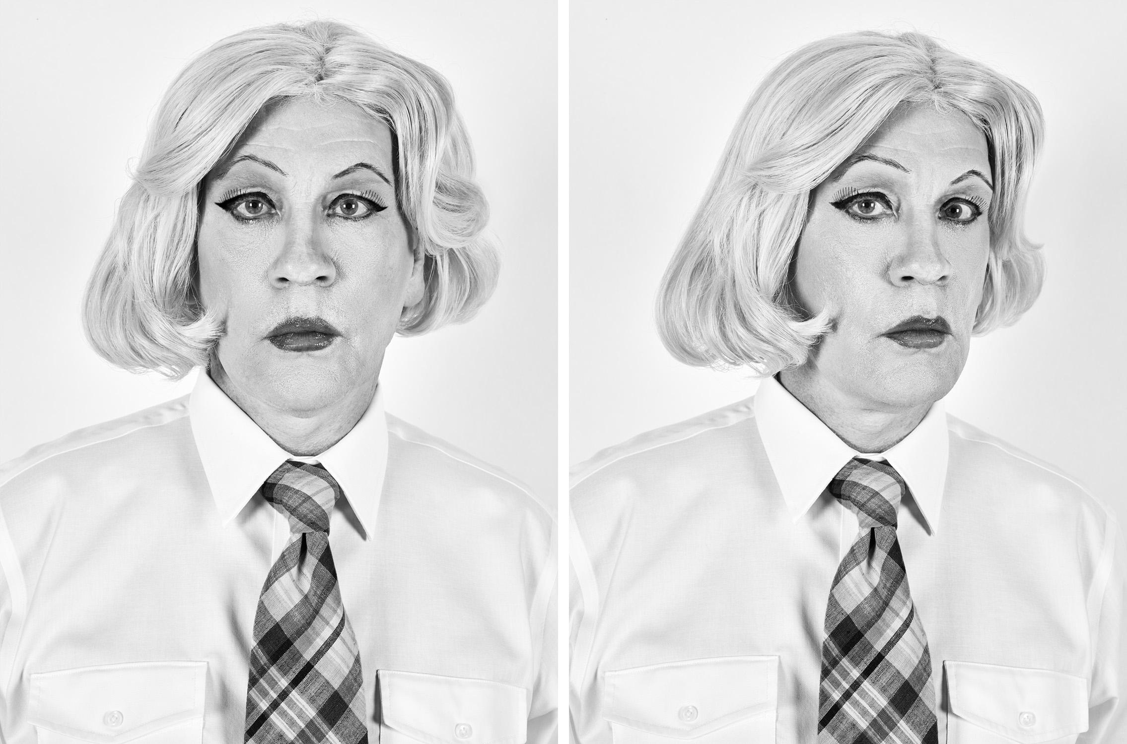 Christopher Makos / Lady Warhol Diptych (1981), 2017
