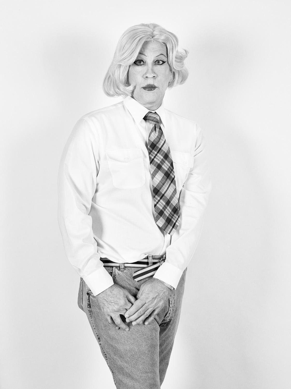 Christopher Makos / Lady Warhol Standing (1981), 2017