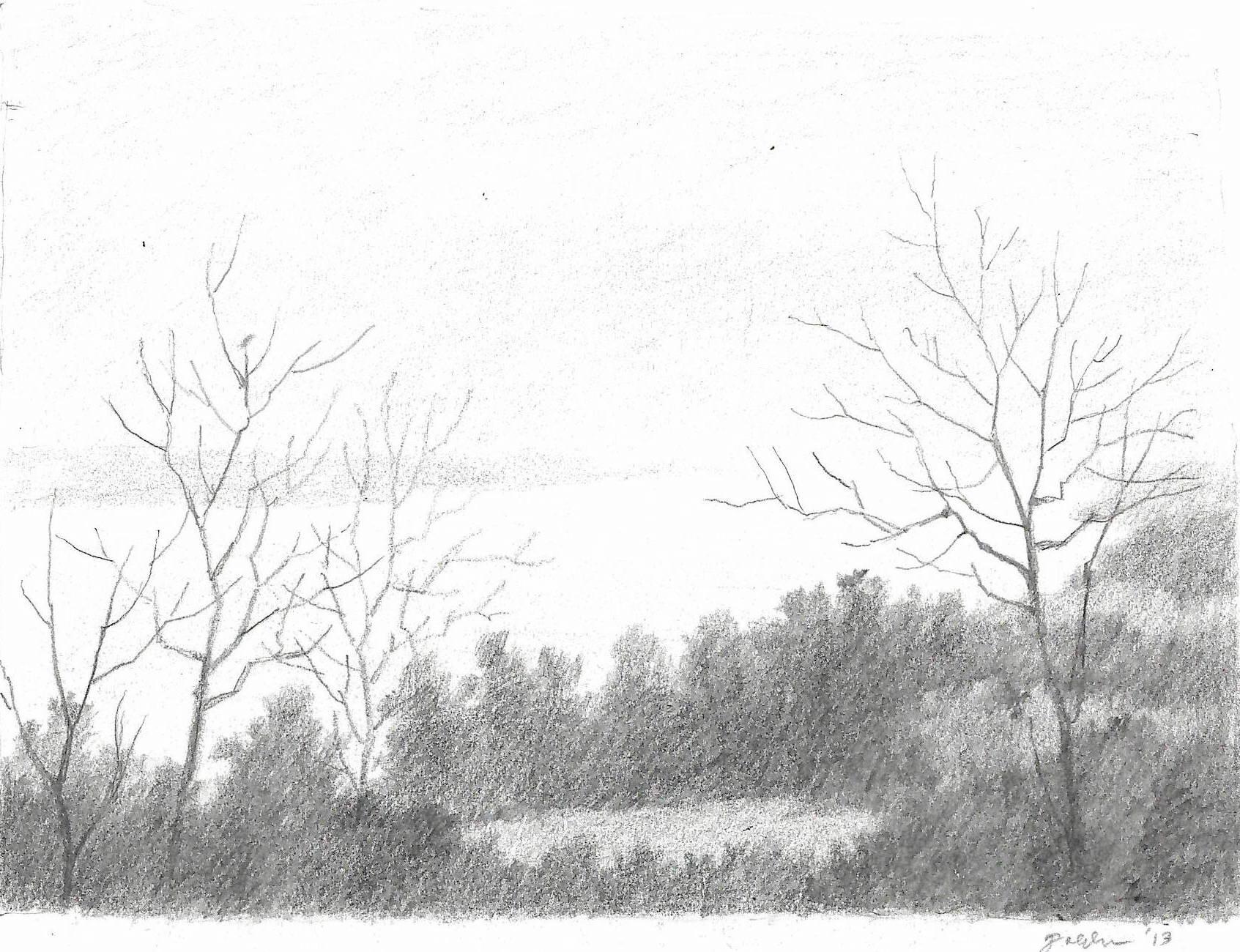 Fog on the River (Natchez) (2013)