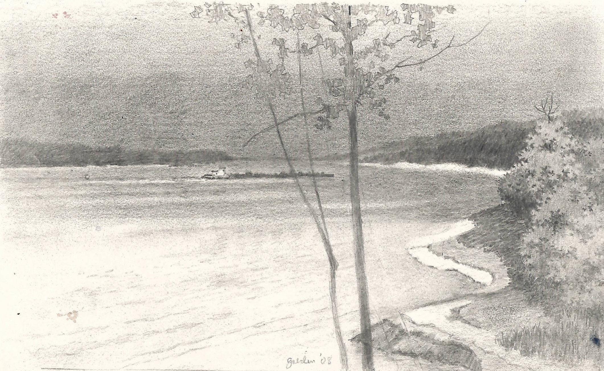 Barge on the Mississippi (2008)