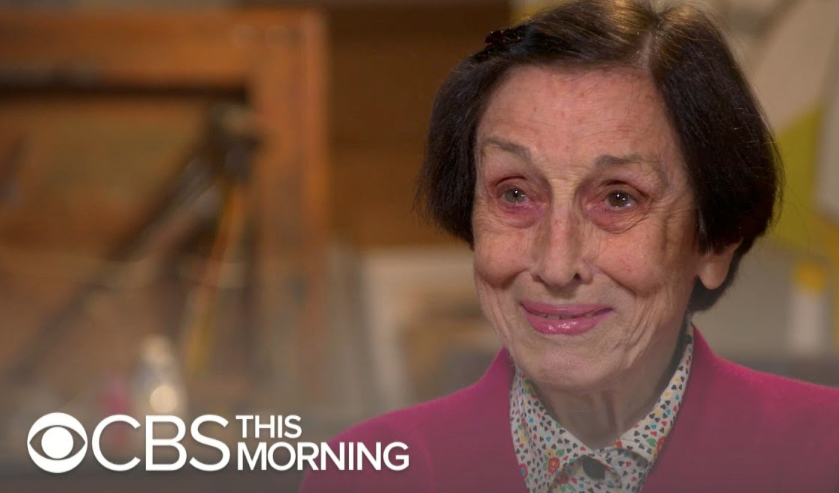 CBS News - Françoise Gilot, Debuts Her Worldly Sketches