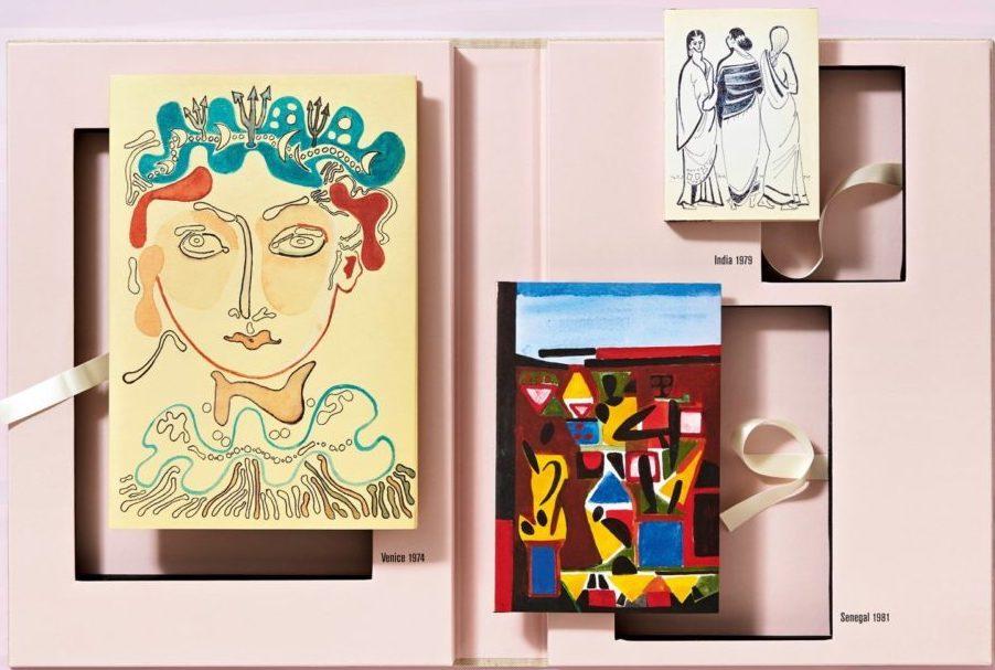 Smithsonian Magazine - The Travel Sketchbooks of Françoise Gilot