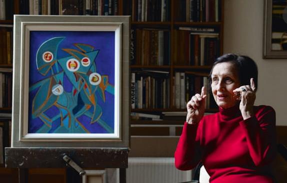 The Guardian - 'It wasn't a sentimental love': Françoise Gilot on Picasso