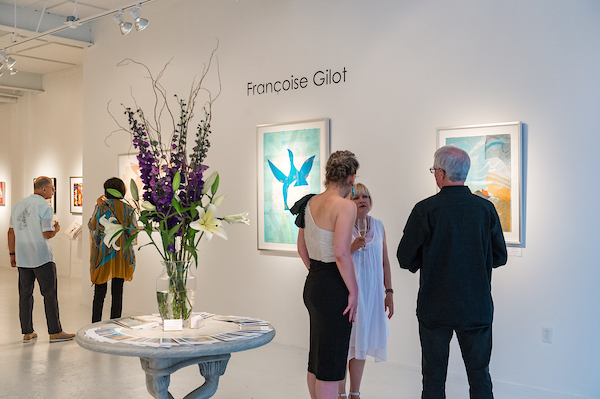 Françoise Gilot Monotypes Exhibition Preview - August 2, 2019