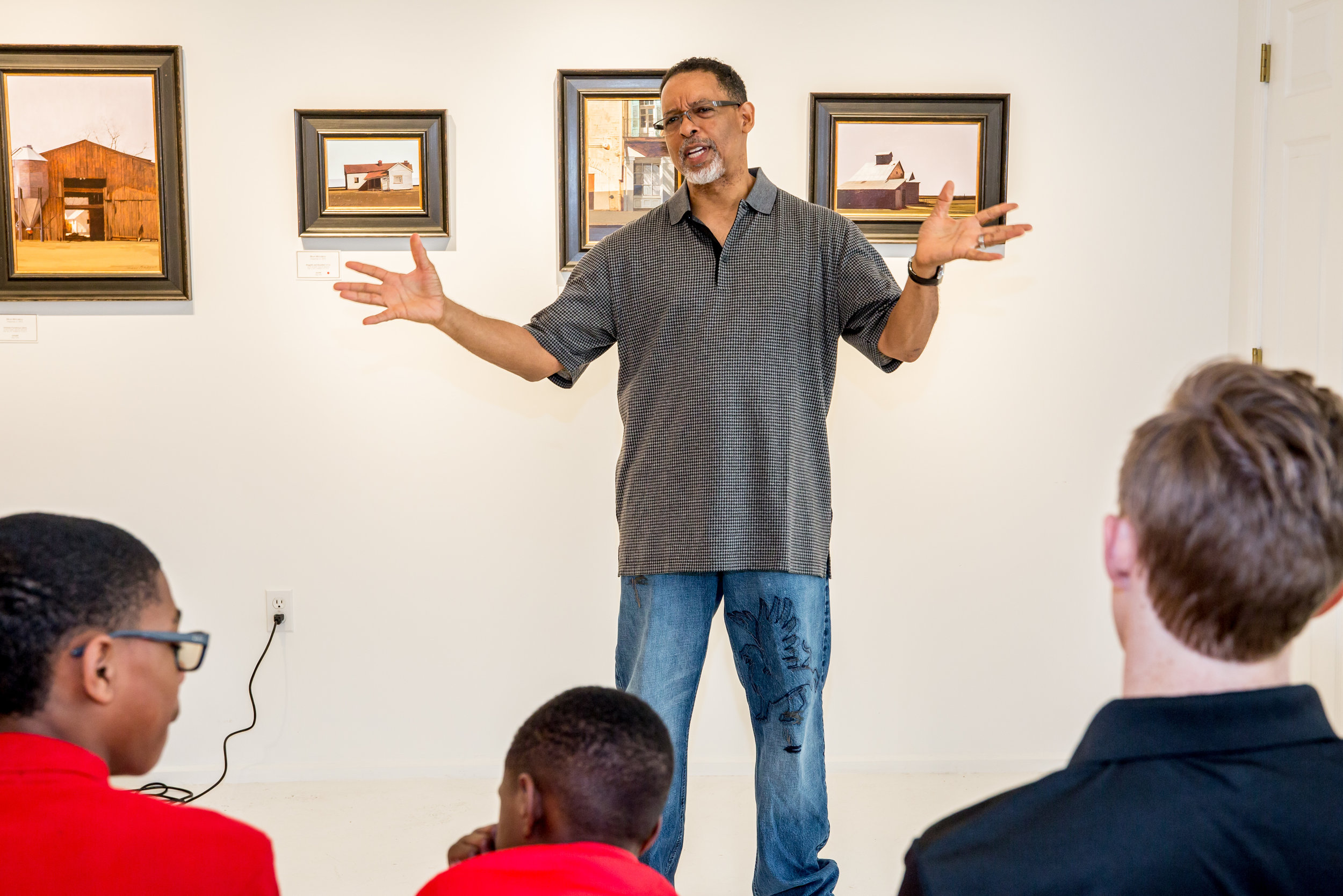 Dean Mitchell Artist Talk - April 6, 2019