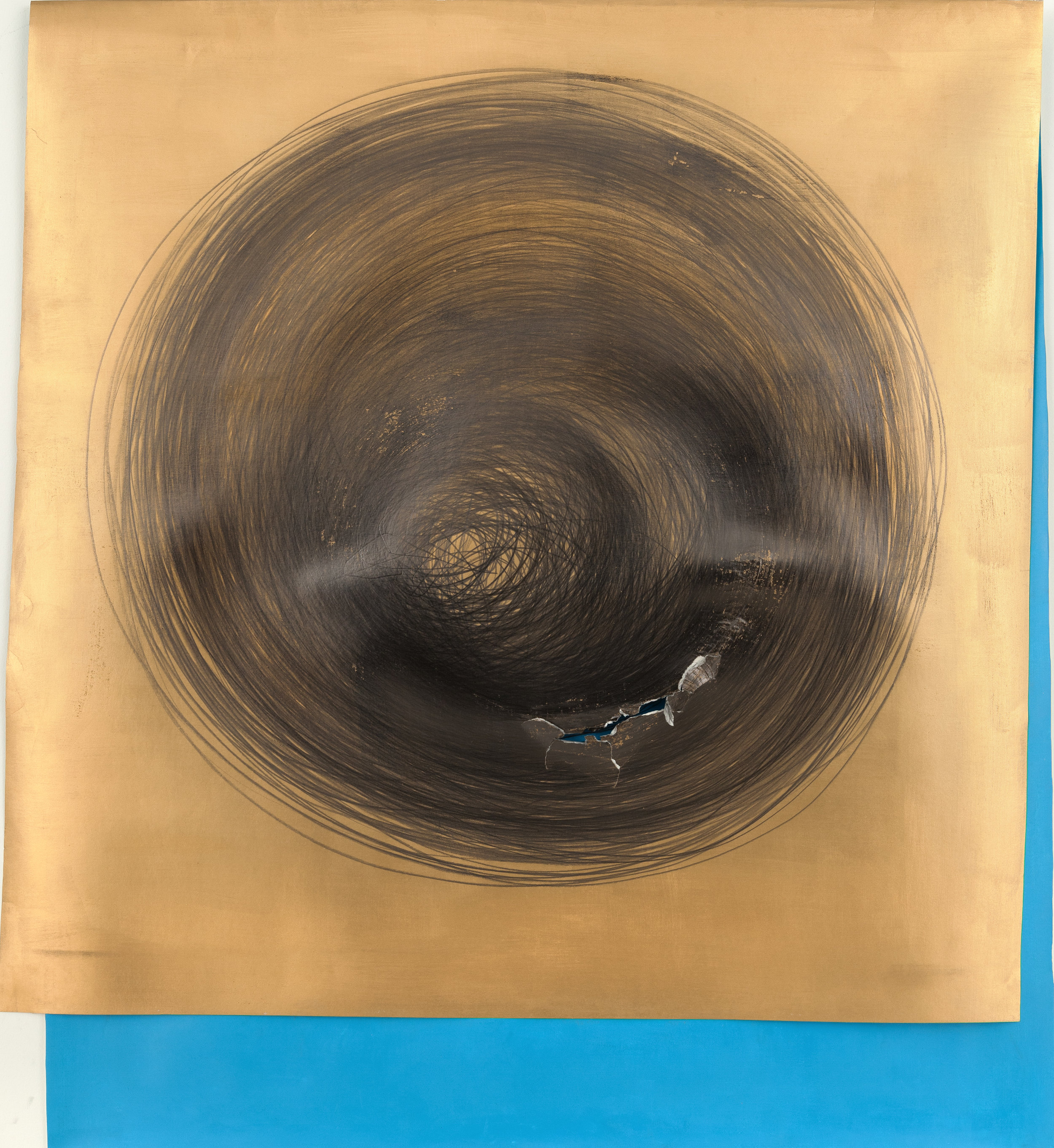 Circle Drawing: Gold / Light-Blue, 1hour 38minutes (2018)