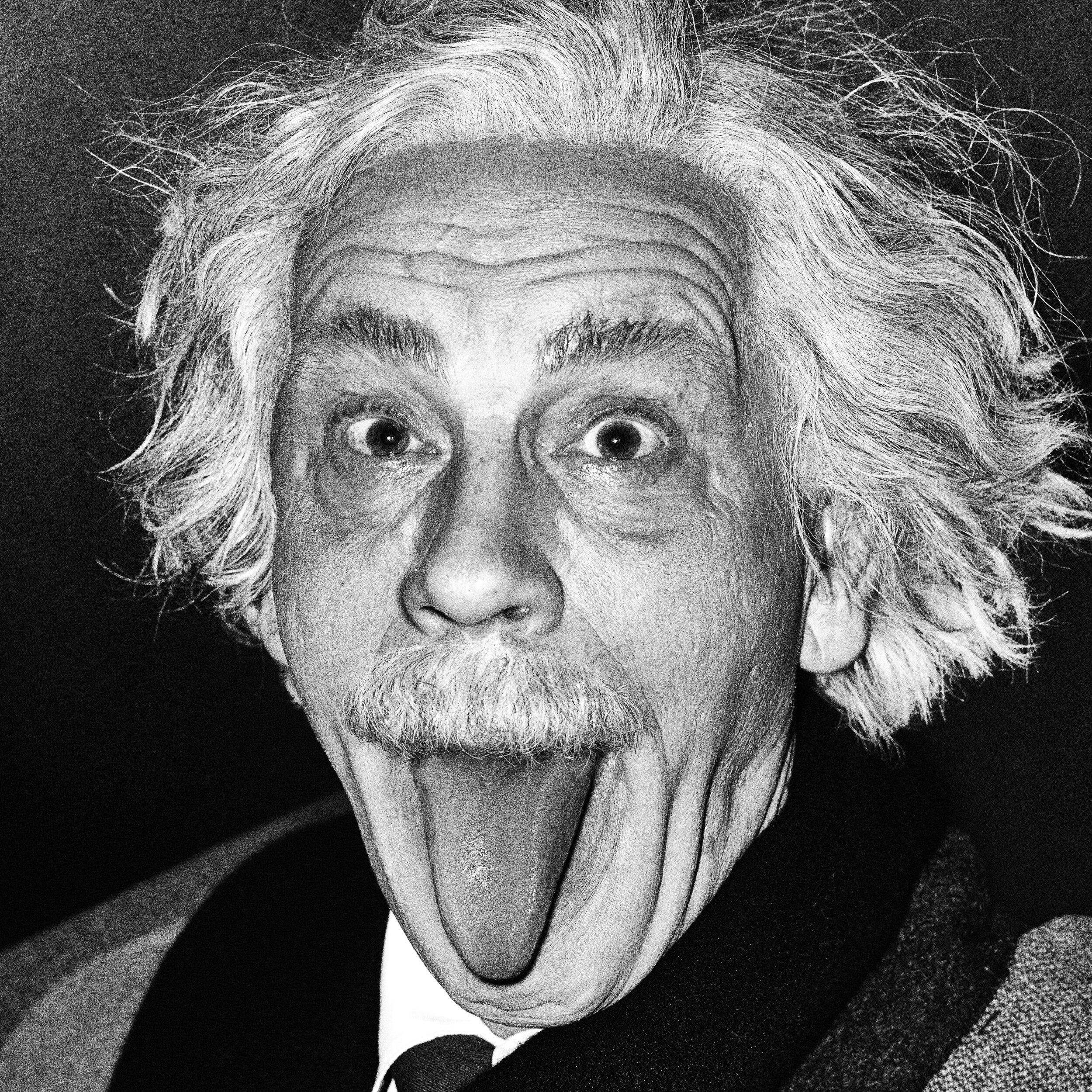 Arthur Sasse _ Albert Einstein Sticking Out His Tongue (1951), 2014.jpg