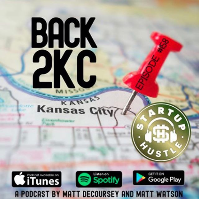LOTS of name dropping (and M&M candy snacking) going on in today's episode of @startuphustlepodcast featuring #Back2KC's program director. Have a listen to learn who we're looking to get back! linktr.ee/startuphustle