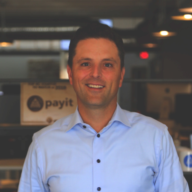 John Thomson    Founder & CEO of  PayIt