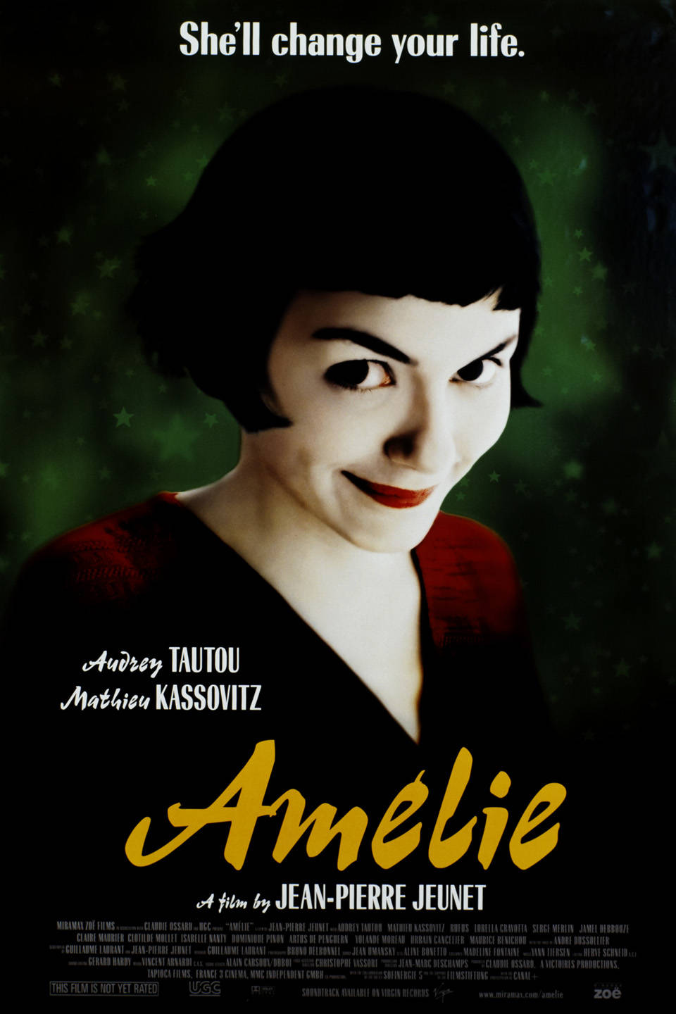 Amelie - 7 Films To Warm Your Heart
