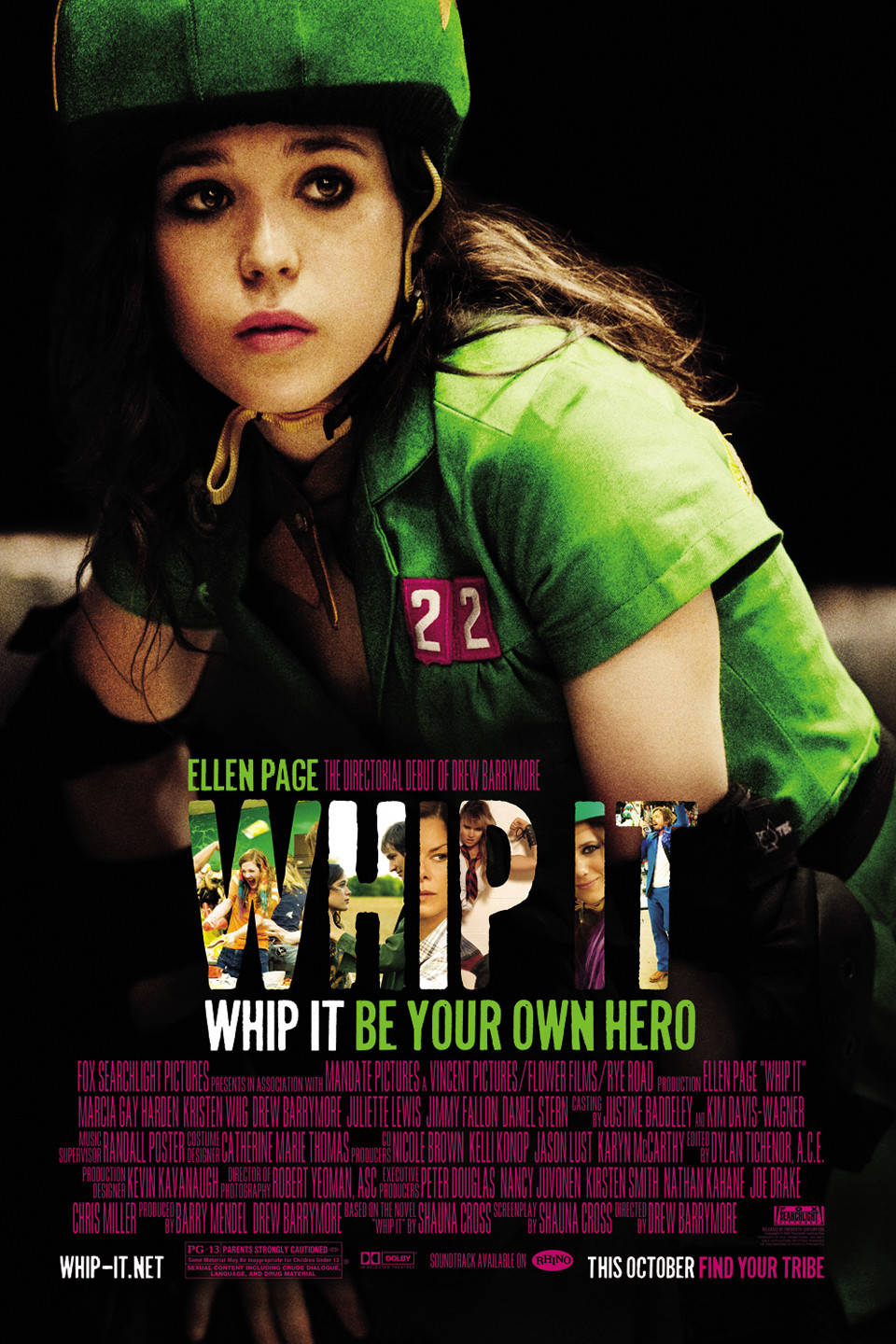 Whip It - 7 Films To Warm Your Heart