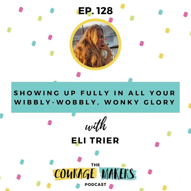 @elitriercommunities is an absolute powerhouse, I love her enthusiasm, her values and her energy. She is simply contagious. . In this week's episode, Eli shares her journey from struggling with crippling anxiety to helping people build authentic communities, her story of being diagnosed wth autism in her thirties, and her decision she made two years ago to only talk to herself with compassion and like her own best friend. . We have a great conversation about boundaries and how having such firm boundaries around her time and energy are what allows her to show up fully, how self compassion and self-kindness are Eli's superpowers and how to find your people. . I've been thinking a lot over the past couple of years, about the sustainability piece when it comes to creating a life you love and Eli's wisdom and practical examples around her own boundaries is seriously inspiring and helpful. . If you're someone who wants to show up more as your imperfect self, wants to find your people and wants to find a way to show yourself more compassion and kindness instead of being your own biggest dreamshitter, this is the episode for you! . Here's to showing up in full in all our wibbly-wobbly, wonky glory and making the world a brighter place! . . . #couragemakers #podcastlife #podcaster #podcasting #multipotentialite #multipassionate #creativeprocess #starlight #behindthescenes #communityovercompetition #creativepreneur #creativeentrepreneur  #inspiring #liveauthentic #createandcultivate #quietrevolutionaries