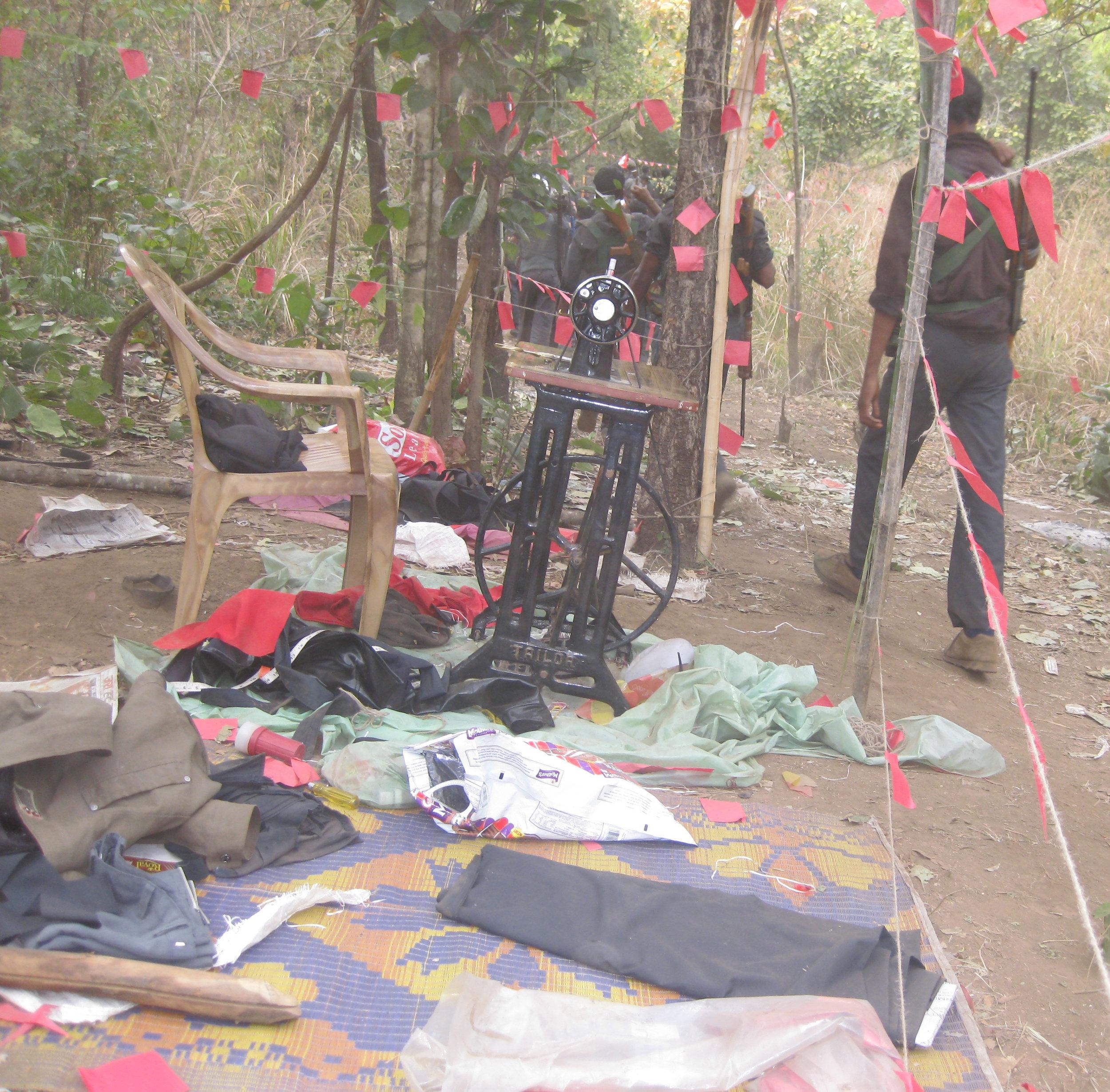 Z6 Temporary tailor in a Maoist camp.jpg