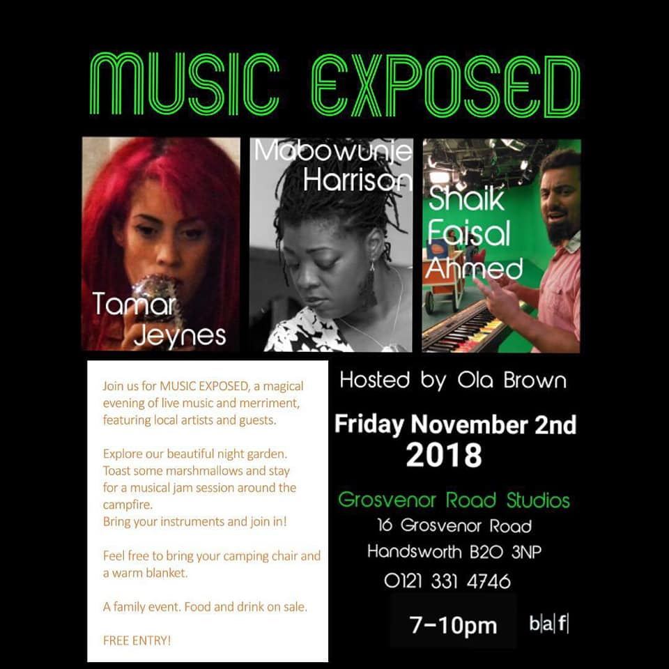 MUSIC EXPOSED FLYER