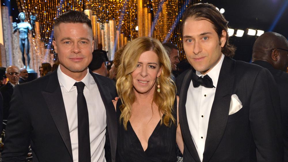 Plan B's Brad Pitt, Dede Gardner, and Jeremy Kleiner