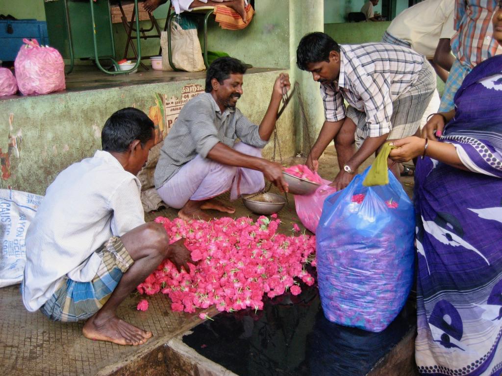 Flower Market, Madurai