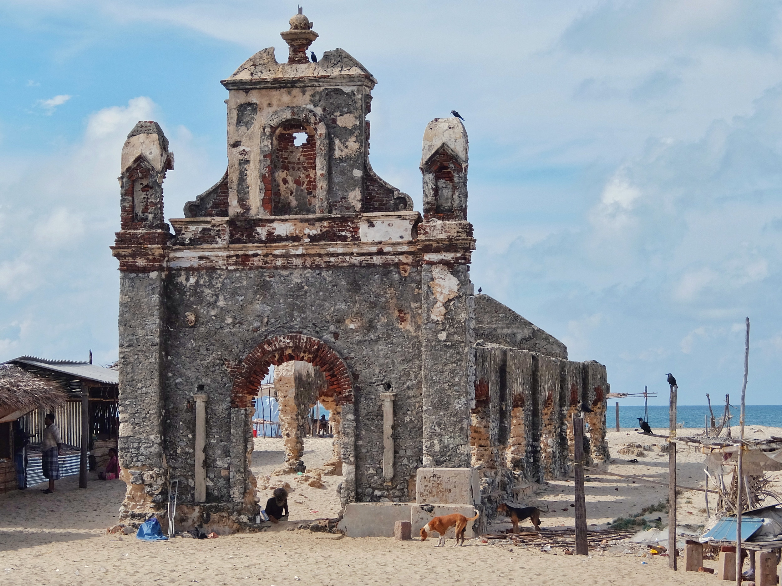 Ruined Church, Dhanuskodi